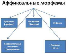 最常用的俄语后缀和俄语前缀