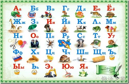 俄语入门 33个字母发音(白俄罗斯人示范)