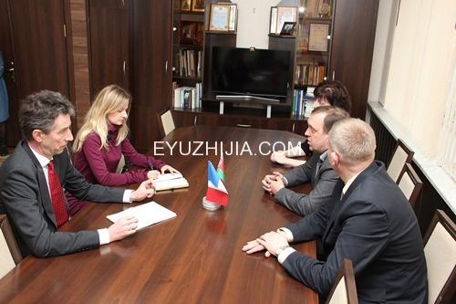 法兰西共和国驻白俄罗斯大使访问维捷布斯克国立大学